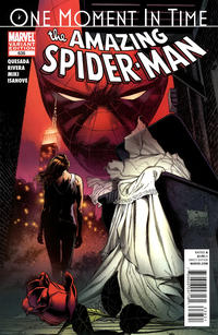 Cover Thumbnail for The Amazing Spider-Man (Marvel, 1999 series) #638 [Quesada Variant Edition]