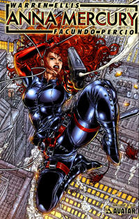 Cover Thumbnail for Anna Mercury (Avatar Press, 2008 series) #1 [Wraparound Juan Jose Ryp]