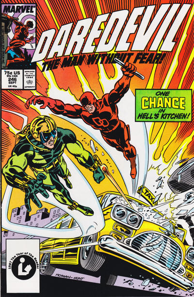 Cover for Daredevil (Marvel, 1964 series) #246 [Newsstand Edition]