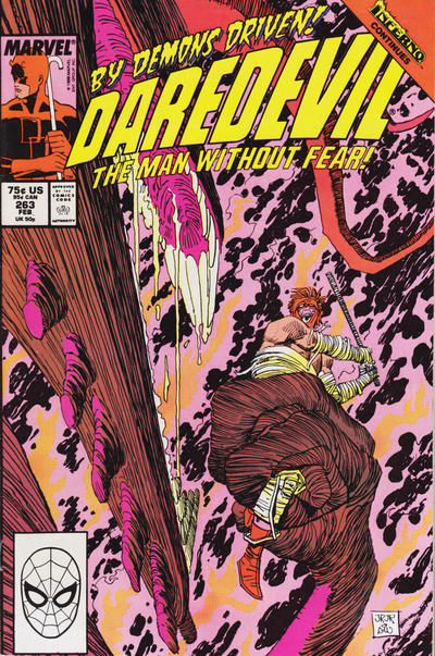 Cover for Daredevil (1964 series) #263 [Direct Edition]