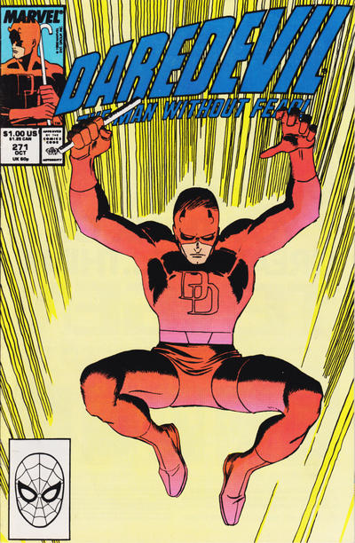 Cover for Daredevil (Marvel, 1964 series) #271 [Newsstand Edition]