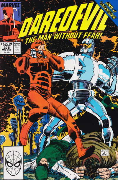 Cover for Daredevil (1964 series) #275 [Direct Edition]