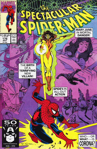 Cover for The Spectacular Spider-Man (Marvel, 1976 series) #176 [newsstand]