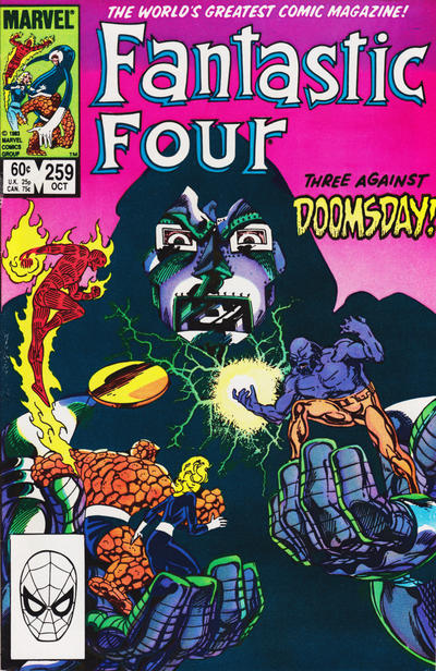 Cover for Fantastic Four (Marvel, 1961 series) #259 [Direct Edition]