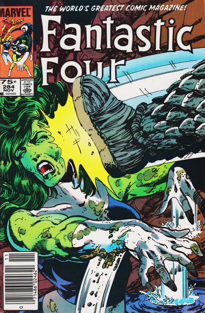 Cover for Fantastic Four (1961 series) #284 [Canadian price variant]