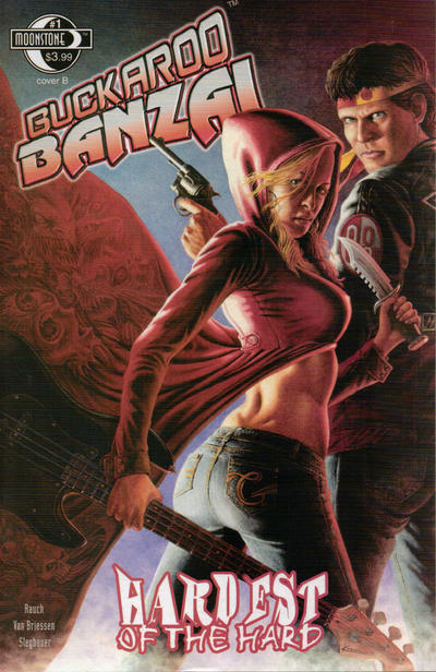 Cover for Buckaroo Banzai Hardest of the Hard (2010 series) #1 [Cover B]