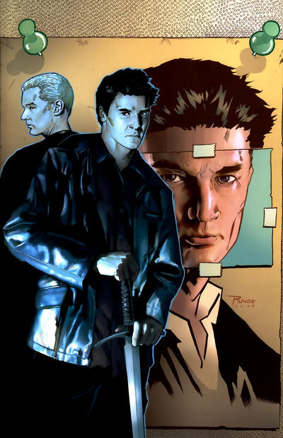 Cover for Angel (2009 series) #27 [Cover A - Stephen Mooney]