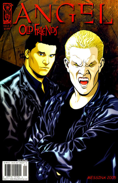 Cover for Angel: Old Friends (2005 series) #3 [Retailer Incentive Photo Cover]