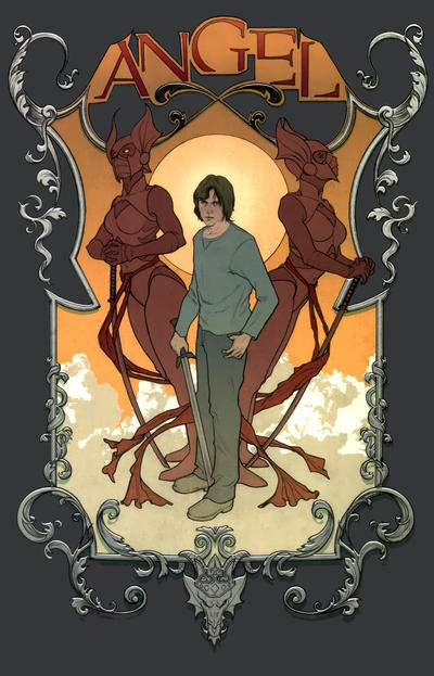 Cover for Angel (2009 series) #30 [Cover A - Jenny Frison]