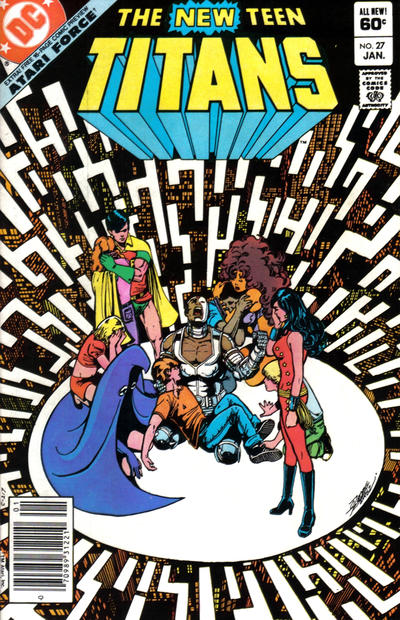 Cover for The New Teen Titans (DC, 1980 series) #27 [Direct]