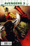 Cover for Ultimate Avengers (Marvel, 2009 series) #15