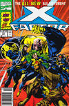 Cover Thumbnail for X-Factor (1986 series) #71 [Newsstand Edition]