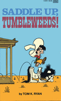 Cover Thumbnail for Saddle Up, Tumbleweeds! (Gold Medal Books, 1982 series)
