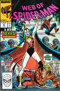 Cover Thumbnail for Web of Spider-Man (Marvel, 1985 series) #46 [Direct Edition]