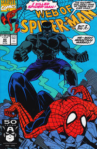Cover Thumbnail for Web of Spider-Man (Marvel, 1985 series) #82 [Direct Edition]