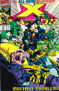 Cover Thumbnail for X-Factor (Marvel, 1986 series) #73 [Direct Edition]