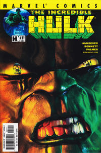 Cover Thumbnail for Incredible Hulk (Marvel, 2000 series) #31 (505) [Direct Edition]