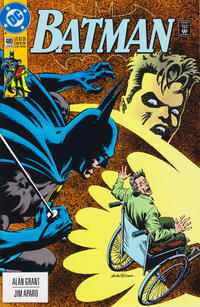 Cover Thumbnail for Batman (DC, 1940 series) #480 [Direct]