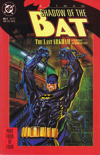 Cover Thumbnail for Batman: Shadow of the Bat (DC, 1992 series) #4 [Direct]
