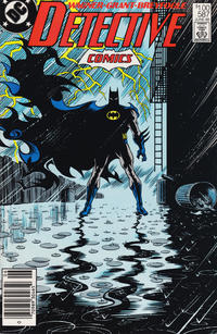 Cover Thumbnail for Detective Comics (DC, 1937 series) #587 [Canadian Newsstand]
