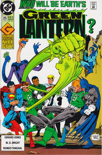 Cover Thumbnail for Green Lantern (DC, 1990 series) #25 [Direct]