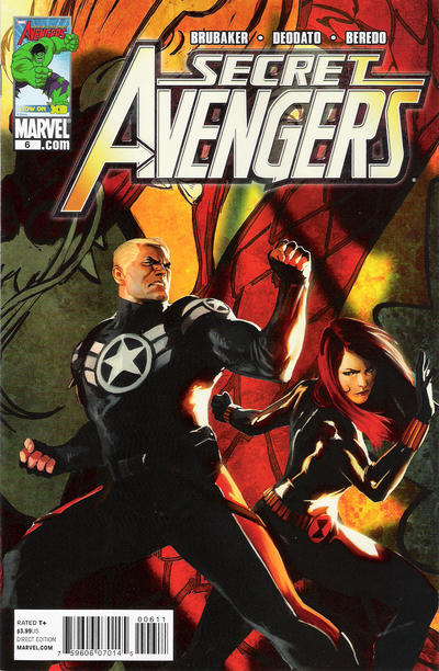 Cover for Secret Avengers (2010 series) #6