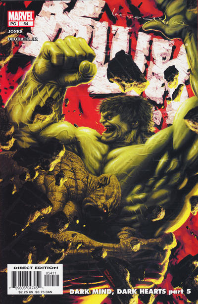 Cover for Incredible Hulk (Marvel, 2000 series) #54 [Newsstand]