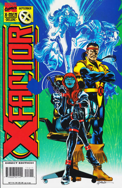 Cover for X-Factor (1986 series) #114 [Deluxe Edition]