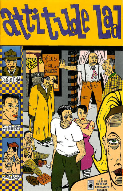 Cover for Attitude Lad (Slave Labor, 1994 series) #1