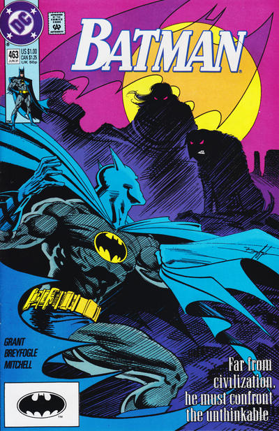 Cover for Batman (DC, 1940 series) #463 [Newsstand]