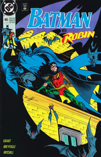 Cover for Batman (DC, 1940 series) #465 [Direct]