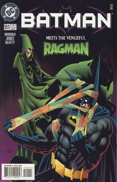 Cover for Batman (1940 series) #551 [Newsstand]