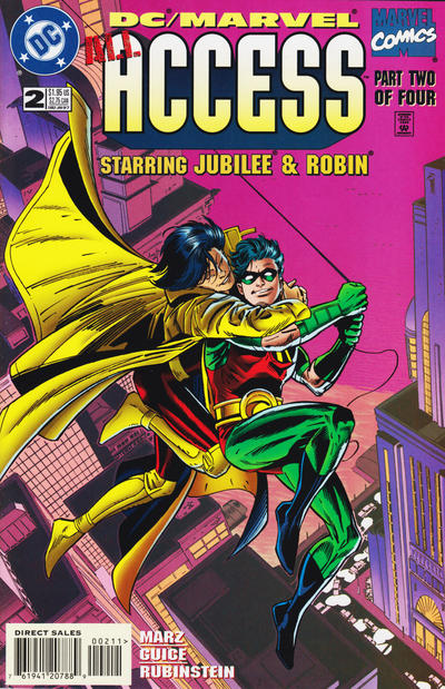 Cover for DC / Marvel All Access (DC / Marvel, 1996 series) #2 [Direct Edition]