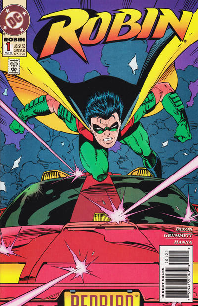 Cover for Robin (DC, 1993 series) #1 [Newsstand Edition]