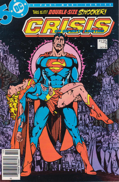 Cover for Crisis on Infinite Earths (1985 series) #7 [Newsstand]