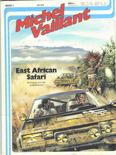 Cover for Michel Vaillant (1978 series) #7