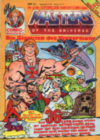 Cover Thumbnail for Masters of the Universe (Condor, 1984 series) #5