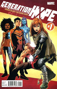 Cover Thumbnail for Generation Hope (Marvel, 2011 series) #1 [Direct Edition]