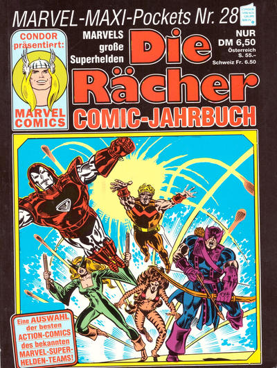Cover for Marvel-Maxi-Pockets (Condor, 1980 series) #28