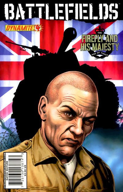 Cover for Battlefields (Dynamite Entertainment, 2009 series) #4