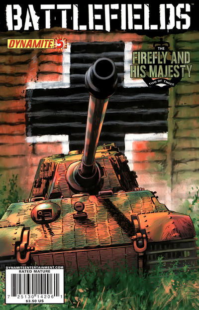 Cover for Battlefields (Dynamite Entertainment, 2009 series) #5