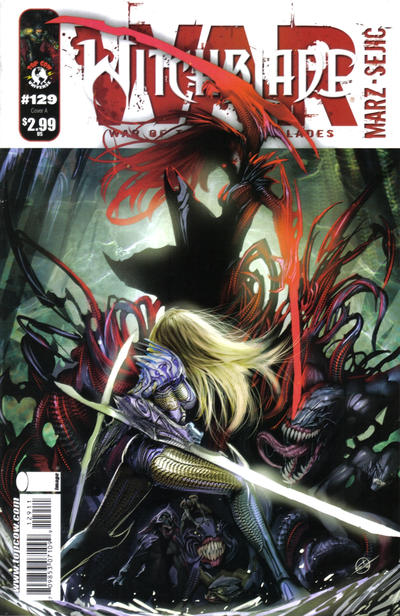 Cover for Witchblade (Image, 1995 series) #129 [Sejic Cover]