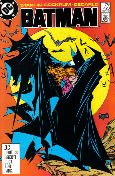 Cover for Batman (DC, 1940 series) #423 [2nd Printing]