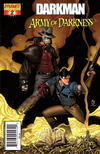 Cover Thumbnail for Darkman vs. The Army of Darkness (2006 series) #2 [Nick Bradshaw Cover]