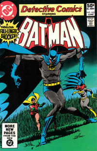 Cover Thumbnail for Detective Comics (DC, 1937 series) #503 [Direct]