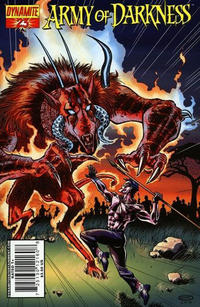 Cover Thumbnail for Army of Darkness (Dynamite Entertainment, 2007 series) #23