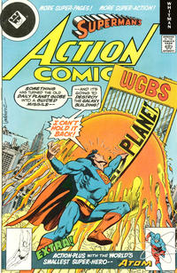 Cover Thumbnail for Action Comics (DC, 1938 series) #487 [Whitman cover]