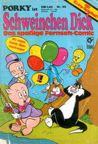 Cover Thumbnail for Schweinchen Dick (Condor, 1972 series) #98