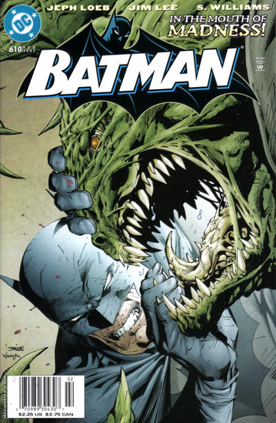 Cover for Batman (DC, 1940 series) #610 [Newsstand]