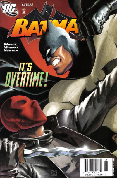 Cover for Batman (DC, 1940 series) #641 [Newsstand]